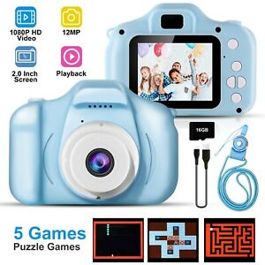 Kids-12MP-1080P-Digital-Camera-2-0-034-LCD-HD-Zoom-Mini-Camera-Xmas-Gift-for-Kids