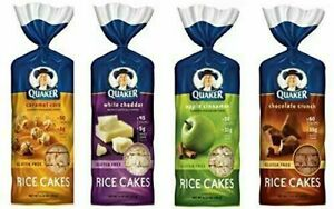 Quaker-Rice-Cakes-Variety-Bundle-Pack-of-4-Flavors-Chocolate-Crunch-Apple