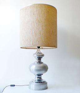 grande-lampe-Barbier-design-1970-vintage-en-metal-chrome-annees-70-039-s-1970