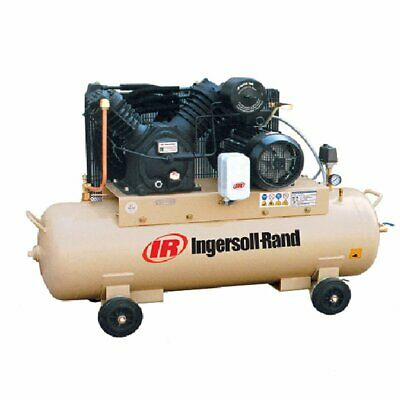 Hydraulics, Pneumatics, Pumps & Plumbing New Fashion Ingersoll Rand 10hp 2-stage Electric Reciprocating Air Compressor 2545c10/12-sd
