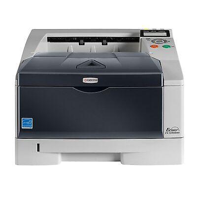 Kyocera FS 1370DN Laserdrucker für Unternehmen Nur 44860 Drucke Toner inkl.