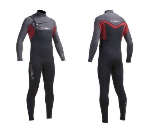 GUL MENS RESPONSE CZ 5//3 MM ABS CHEST ZIP WINTER STEAMER WETSUIT SURFING JETSKI
