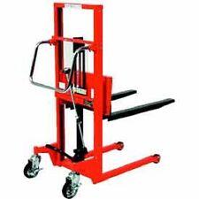 New Hydraulic Stacker Step Type 440 Lb Capacity 354 Lift