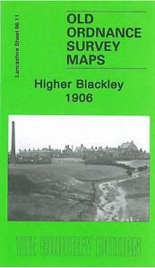 OLD-ORDNANCE-SURVEY-MAP-HIGHER-BLACKLEY-1906