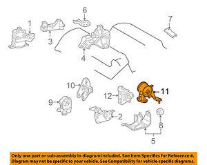 toyota oem 06 12 rav4 engine motor mount torque strut 1237131101 ebay rh ebay com Engines V6 Sports RAV4 Engine Control