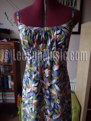 Boden Maxi Dress *STUNNING* UK Size 6 8 10 12 14 16 NEW WH245 Pure Voile Cotton