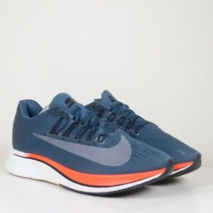 Nike-Womens-Zoom-Fly-Running-Shoes-Gray-Low-Top-Sneakers-897821-400-Sz-7-5
