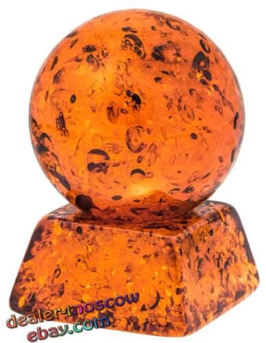 Baltic Amber Mascot Figurine Magic Power Ball