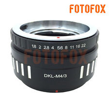 DKL-M43 Voigtlander Retina DKL Lens to Micro 4/3 M4/3 M43 Mount Adapter GX1 OM-D