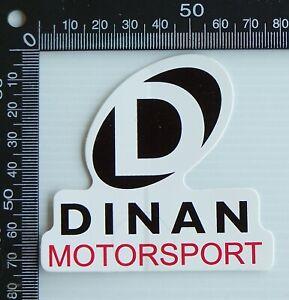 OLD-DINAN-MOTORSPORT-RACING-CAR-SPONSOR-ADVERTISING-PROMO-VINYL-BUMPER-STICKER