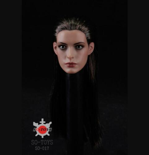 1//6 scale Anne Hathaway head catwoman mask batman for phicen kumik ❶US IN STOCK❶