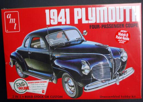 wieder neu 1:25,AMT 919 neu,wieder 2015 neu 1941 Plymouth 2´n1