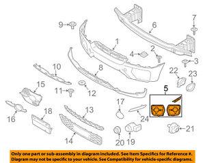 bmw oem 08 14 x6 front bumper repair kit 51117210936 ebayimage is loading bmw oem 08 14 x6 front bumper repair