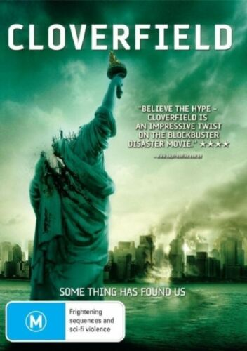 1 of 1 - Cloverfield (DVD, 2008) - Region 4 - As New