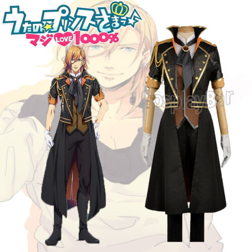 Uta no Prince-sama Season 4 Jinguji Ren Stage Outfit Uniform Cosplay Costume