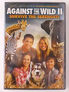 Against the Wild II - Survive the Serengeti (DVD, 2016) - NEW20