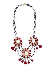 Tory Burch Multi Strand Puka Shell w/ Mirrors Necklace, NWT
