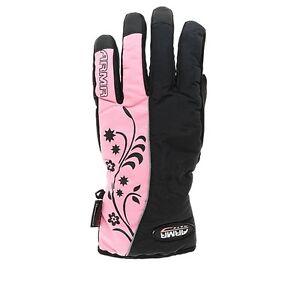 Ladies-Armr-Textile-Waterproof-Thinsulate-Motorcycle-Glove-LWP-18-LWP225-Pink-T