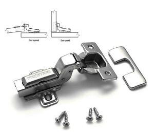 Soft Close Prestige 35mm Flush Kitchen Cabinet Door Hinge Plate Screws 5908231309211 Ebay