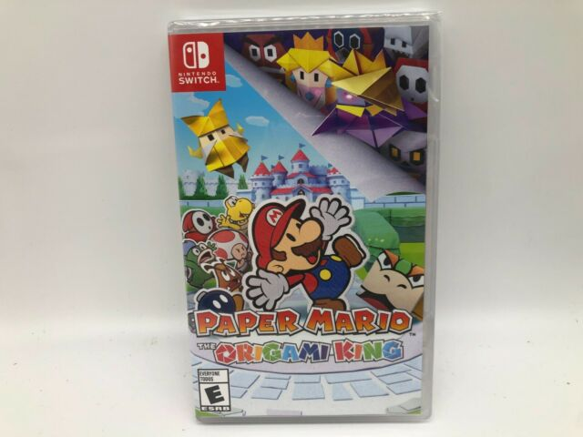 Paper Mario: The Origami King -- Nintendo Switch, 2020 [BRAND NEW] Free Ship!