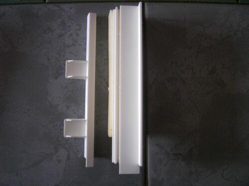 Adapterpaar für Rolladenkastendeckel  220mm