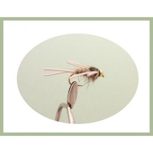 Goldhead Lepri Ear Confezione da 6 GOMMA goldhead gambe Lepri Ear Scelta di Taglie