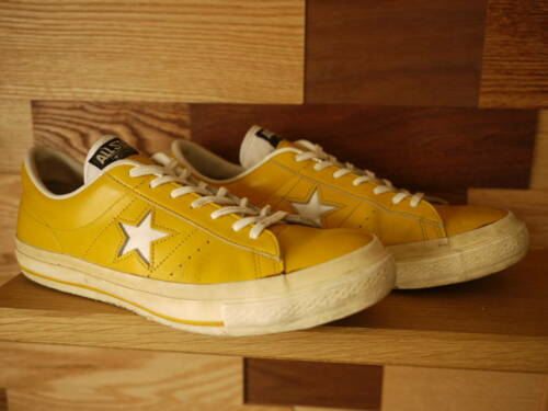 Converse One Star 90s Leather Sneakers Yellow Men'