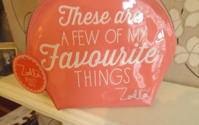 Zoella Pink Favourite Things Beauty Makeup Bag New Item