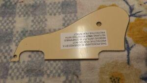 Epiphone Es-339 Crème 3-ply Pickguard Pick Scratch Guard Epi Upgrade-afficher Le Titre D'origine DéLicieux Dans Le GoûT