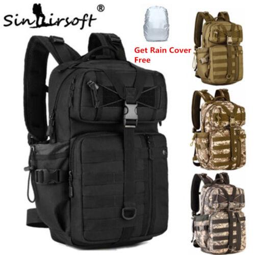 35L Men/'s Military Tactical Molle Back pack Rucksack Hiking Trekking Camping Bag