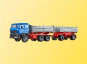 Kibri-14651-DAF-3-ejes-Tractor-con-2achs-Remolque-kit-construccion-H0