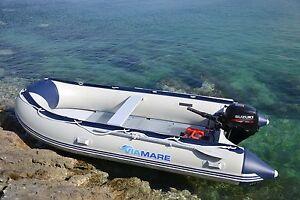 VIAMARE-Sportboot-380-cm-780-kg-Schlauchboot-mit-Aluboden