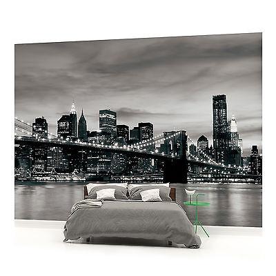 New York Brooklyn Bridge City PHOTO WALLPAPER WALL MURAL ROOM - 226PP