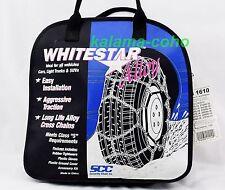 WhiteStar Alloy Tire Snow Chains WS 1610 205/75R14 195/75R15 205/55R16 215/55R16