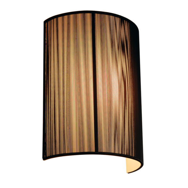 Intalite LASSON lampe murale, WL-3, noir , E27, maximum 40W