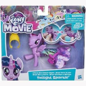 My Little Pony Twilight Sparkle Movie Land Sea Pony Fashion Style Toy Playset Ebay