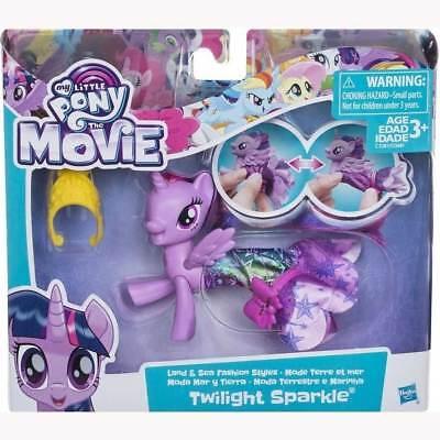 My Little Pony Twilight Sparkle Movie Land & Sea Pony Fashion Style Toy Playset