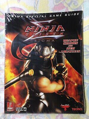 Ninja Gaiden Black Sigma Ii Game Strategy Guide Collection New Ps2 Nintendo Xbox Ebay