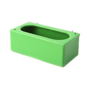 Green-Plastic-Food-Water-Bowl-Cups-Parrot-Bird-Pigeons-Cage-Cup-Feeder-Feeding