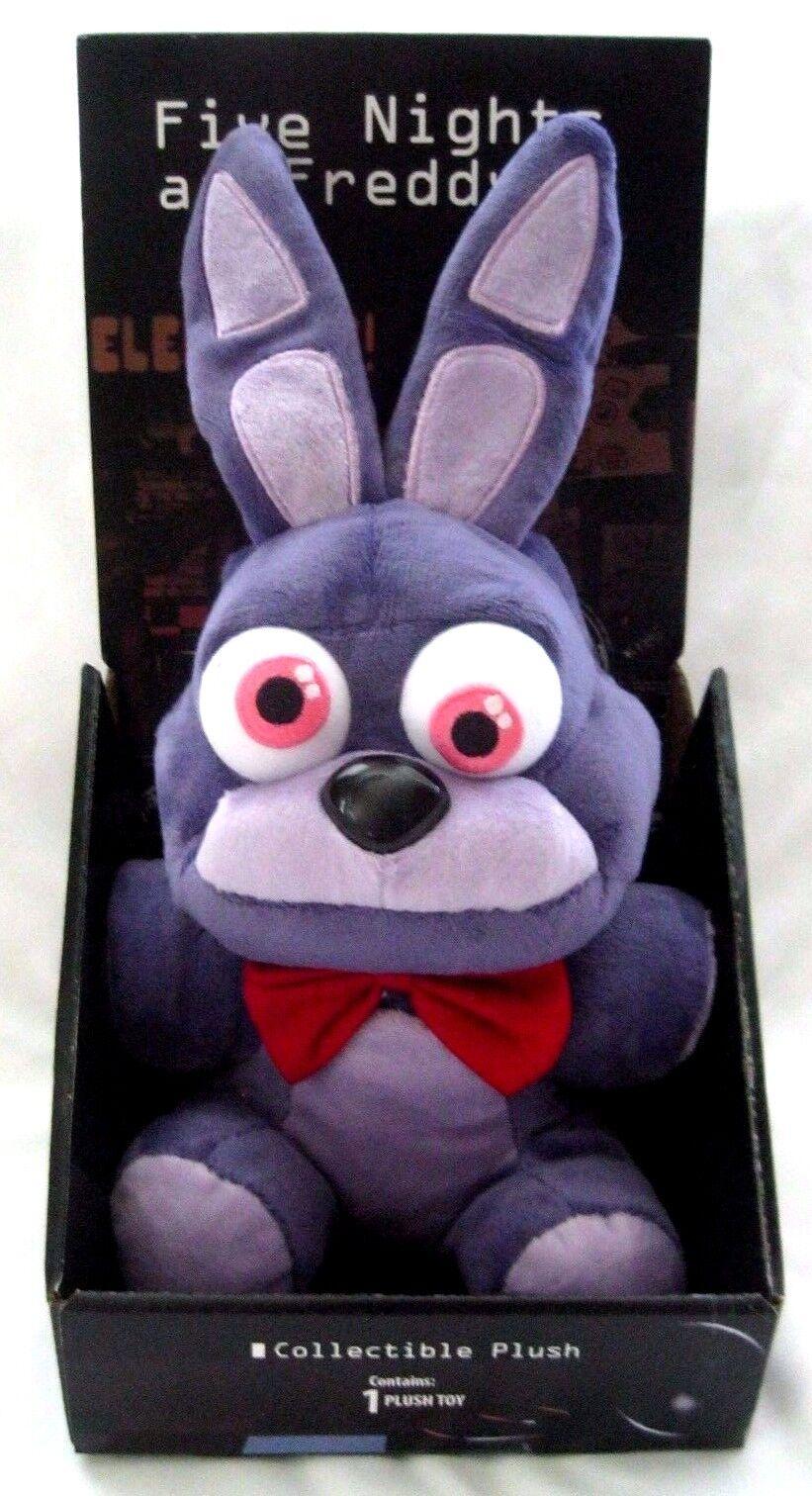 Five Nights at Frossody's 10  Bonnie viola Rabbit Plush-FNF 10  Bonnie Plush-Nuovo
