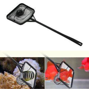 Aquarium-Fish-Net-Fine-Mesh-Nylon-Nets-Quick-Catch-Net-with-Handle-US-SHIP