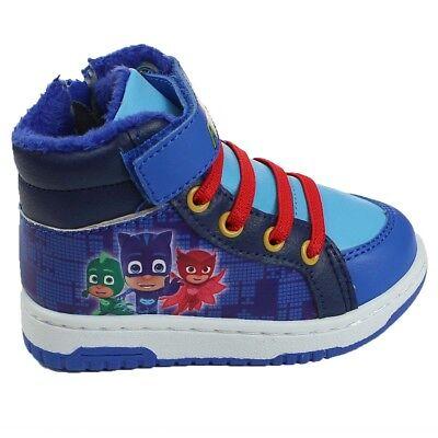 PJ Masks Boys Douglas Casual Shoes Low Top Trainers Blue UK Sizes Child 6-12