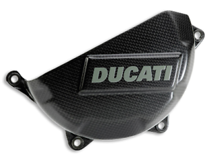 Ducati Schutz aus Kohlefaser für Kupplungsdeckel