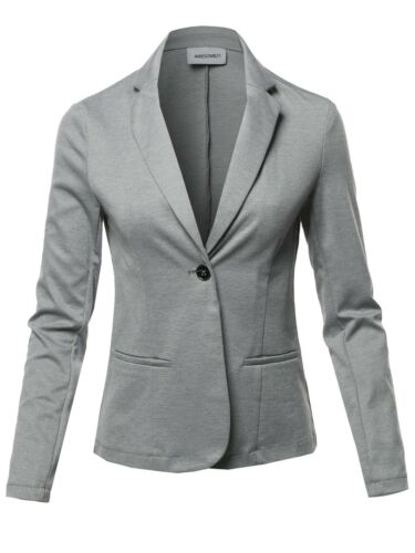 FashionOutfit Women/'s Outer Casual Stylish Patterned Long Sleeves Blazer Jacket