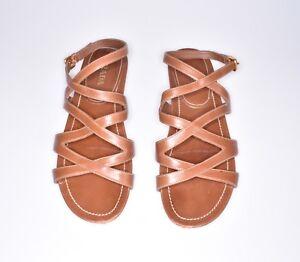 Beige 5 Schuhe Us 39 Sandalen Sz 9 Prada Like Sandals 5 New 6 Uk Stunning HXxpqTP