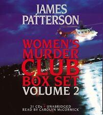 James Patterson Women's Murder Club 21 CDs Box Set, Vol 2 *NEW* FAST Ship in Box