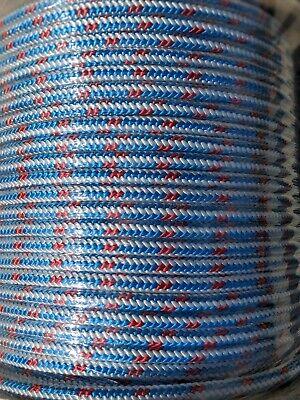 Arborist 12 strand polyester climbing rope 1//2x100 feet Blue Ox tree
