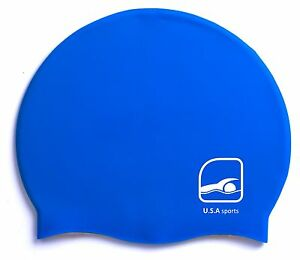 Adult-Silicone-Swim-Cap-Flexible-Durable-Swimming-Hat