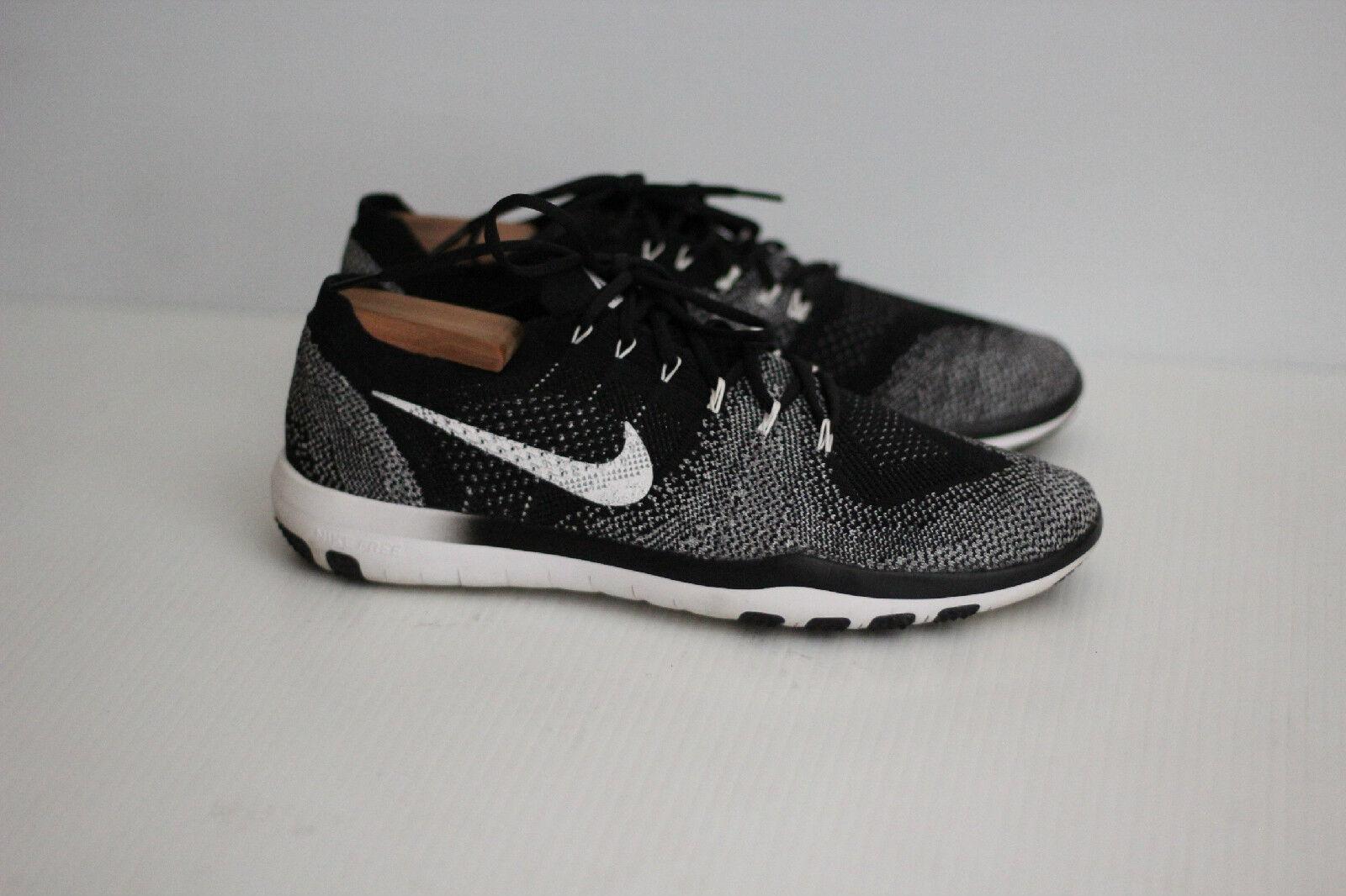 13718f03a0929 Nike Free Focus Flyknit 2 2 2 Training Shoe - Black   White - Size 11.5US  (C36) 473d19