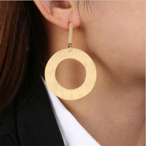 2019-Fashion-Large-Circle-Geometry-Metal-Earring-Dangle-Earrings-Women-Jewelry